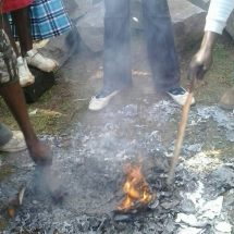 Shots fired at youth burning ballot papers in Nanyuki