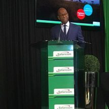 Collymore honored with two year extension as Safaricom CEO