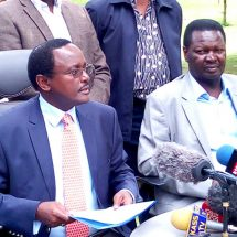 Kalonzo defends Foundation, terms the move a witch-hunt