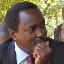 I have been stripped off my security – S. K. Musyoka