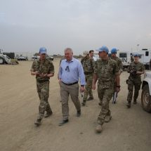 UK Troops arrive in Juba to provide Engineering and Medical support to UNMISS