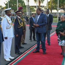 President Uhuru Kenyatta travel to Taormina, Italy, for the 43rd G7 summit