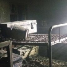 Over 100 left in cold after fire razes Kombi Boys high school dormitory