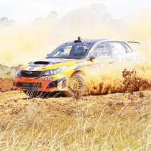 Tapio takes KNRC lead after stellar show in Eldoret
