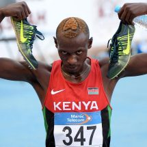 Kenyans fired up