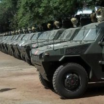 FOUR POLICE Officers  Dead As IED Hits Armoured Personnel Carrier In Lamu.