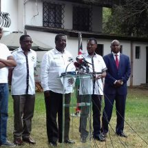 Take actions on the seven Cabinet Secretaries or NASA will, Mudavadi tells DPP