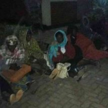 Nyeri women camp in cold in protest against non-payment
