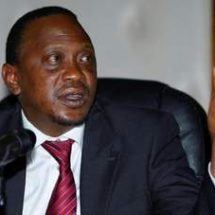 President Kenyatta calls for peace and unity during elections