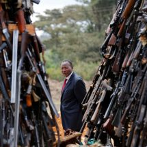 Nkaissery's last respect