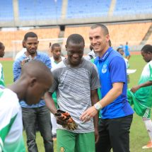 Excitement as Gor mahia – Everton Fc match nears