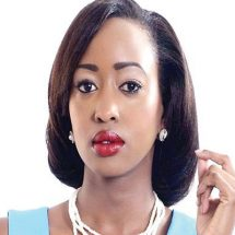 Janet Mbugua back on TV