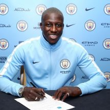 Manchester City confirm Benjamin Mendy signing