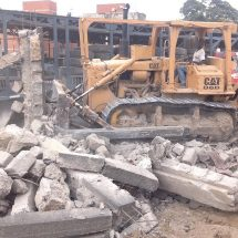 Kenha has demolished buildings illegally