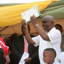 Kivutha Kibwana sworn in for his second term in  Makueni County