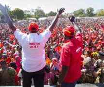 Uhuru wraps up campaigns in Western Kenya