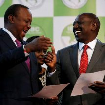 Uhuru cast vote of thanks to Kenyans for re-electing him for the second term