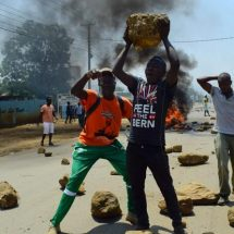 Youths in Kisumu protest over ID 'buying' claims