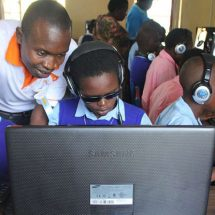 Microsoft launches computer lab for the blind in Likoni