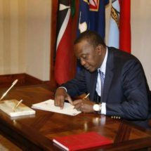 Uhuru Signs Into Law Budget For Repeat Elections