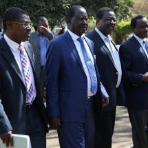 Raila off to UK, ahead of poll