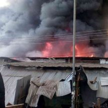 Losses after fire guts Gikomba market stalls