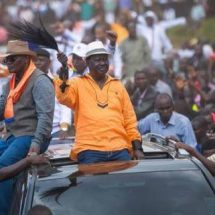 Raila Odinga: We have not told people to protest on polling day