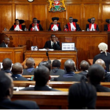 If the election result is upheld, Kenyatta will be sworn in on Nov. 28.