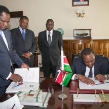 President Kenyatta signs into law the Computer Misuse and Cybercrimes Bill, 2018