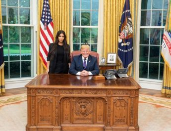 Trump meets Kim Kardashian to discuss prison reforms