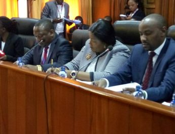 Sonko appears before Senate over Ruaraka Land saga
