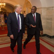 Trade, investments and security top agenda as Kenyatta, Trump meet at the White House
