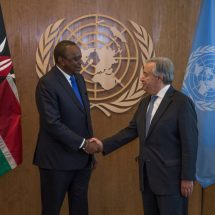 President Kenyatta to champion newly launched UN Global Generation Unlimited initiative