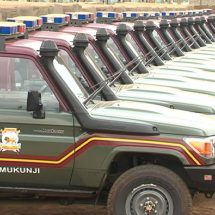 National Police Service receives 800 vehicles to boost security, meet immense shortage