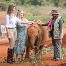 First Lady Margaret Kenyatta hosts her US counterpart at a wildlife sanctuary, affirms her passion for conservation