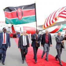 Direct flights to the US to enhance trade, investment, tourism,deepen people-to-people relations between Kenya and America