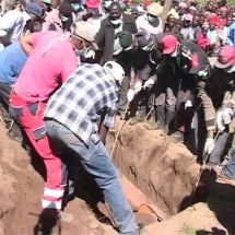 Wrongly buried body exhumed