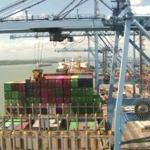 Largest container ship ever dock at the Port of Mombasa