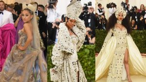 Rihanna's epic pope moment, to Katy Perry's angelic wings