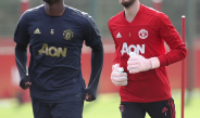 Struggling united to miss Degea's and Pogba's services in Sunday's clash against Liverpool