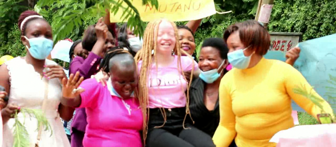 Kitui girl with disability beats odd and tops in KCSE