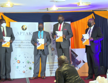 LAUNCH OF ASSOCIATION OF PENSION TRUSTEES AND ADMINISTRATORS OF KENYA