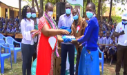 13 schools benefit from free uniforms and sanitary pads